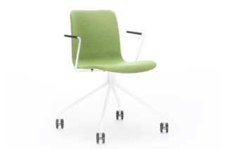 Sola chair with castors  by  Martela