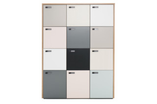 The Wall locker cabinet  by  Martela