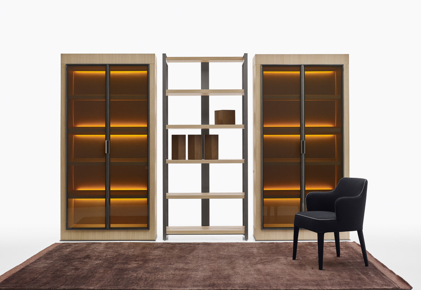 eracle schrank von maxalto stylepark. Black Bedroom Furniture Sets. Home Design Ideas