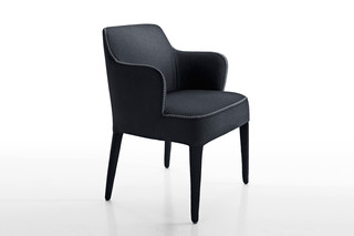 FEBO chair with armrests  von  Maxalto
