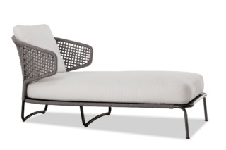 Aston Cord Outdoor Chaiselongue  von  Minotti