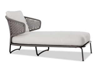 Aston Cord Outdoor daybed  by  Minotti