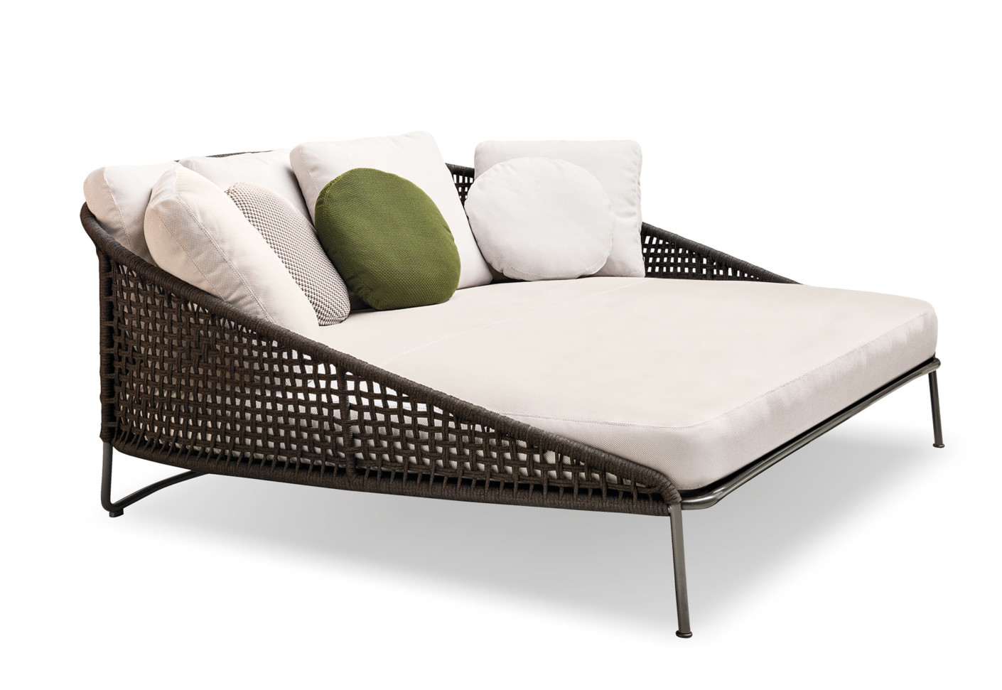 aston cord outdoor sofa deep by minotti stylepark. Black Bedroom Furniture Sets. Home Design Ideas