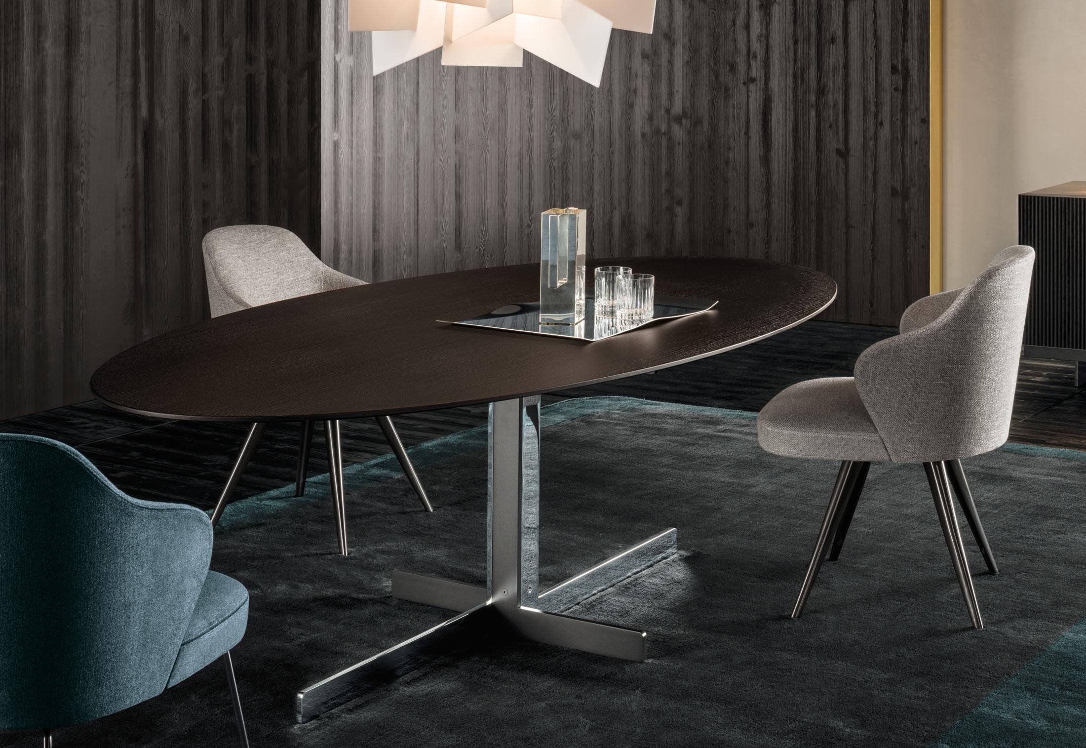 Catlin Dining Table By Minotti Stylepark