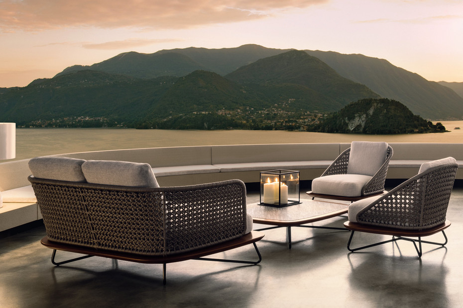 Rivera outdoor 2-seater