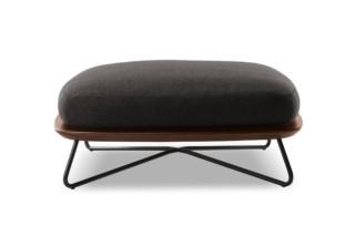 Rivera outdoor stool  by  Minotti