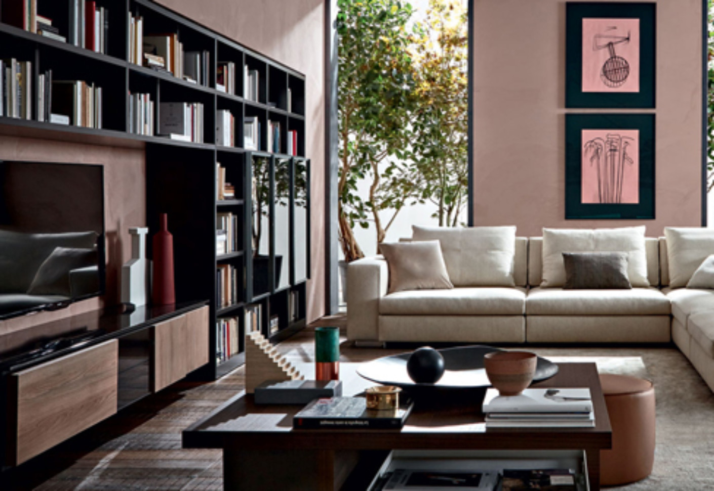 505 multimedia by molteni c stylepark. Black Bedroom Furniture Sets. Home Design Ideas