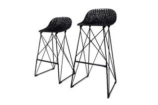 Carbon bar stool  by  Moooi