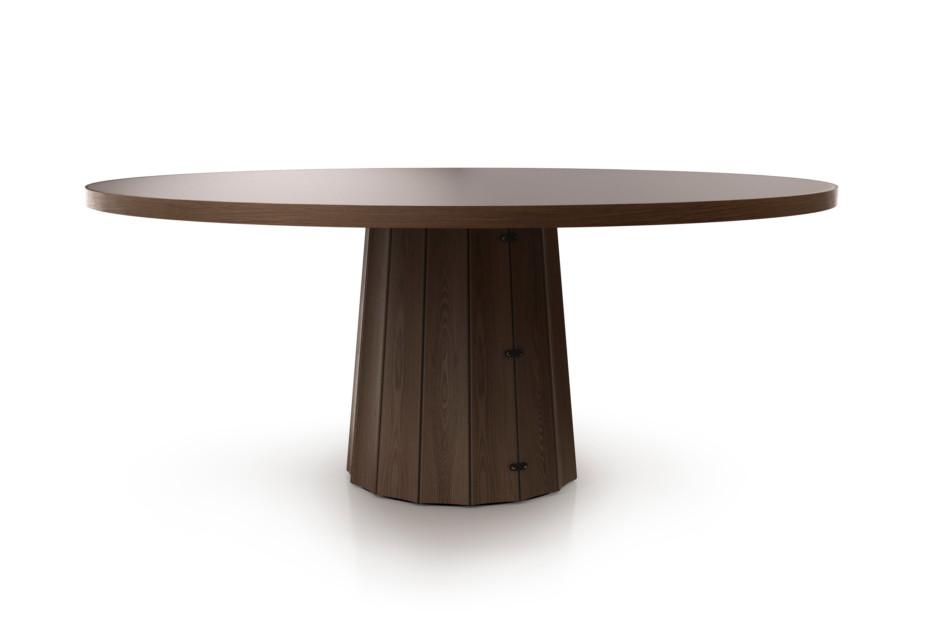 Container Tisch 160 rund Holz