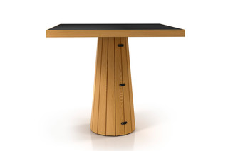 Container table 80 wood  by  Moooi