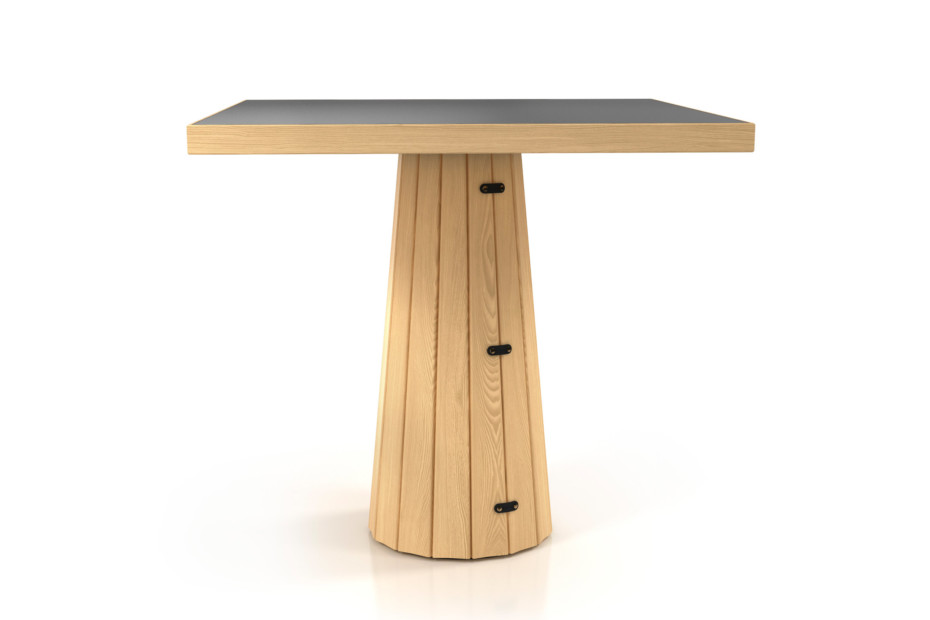 Container Tisch 80 Holz