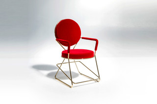 Double Zero chair with armrests  by  Moroso