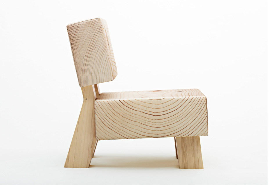 Soft Wood armchair