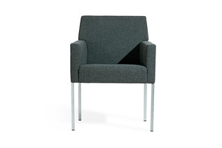 Steel armchair  by  Moroso