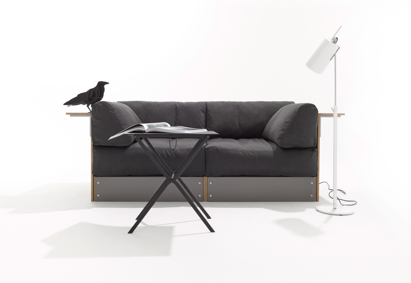 rolf heide sofabank von m ller m belwerkst tten stylepark. Black Bedroom Furniture Sets. Home Design Ideas