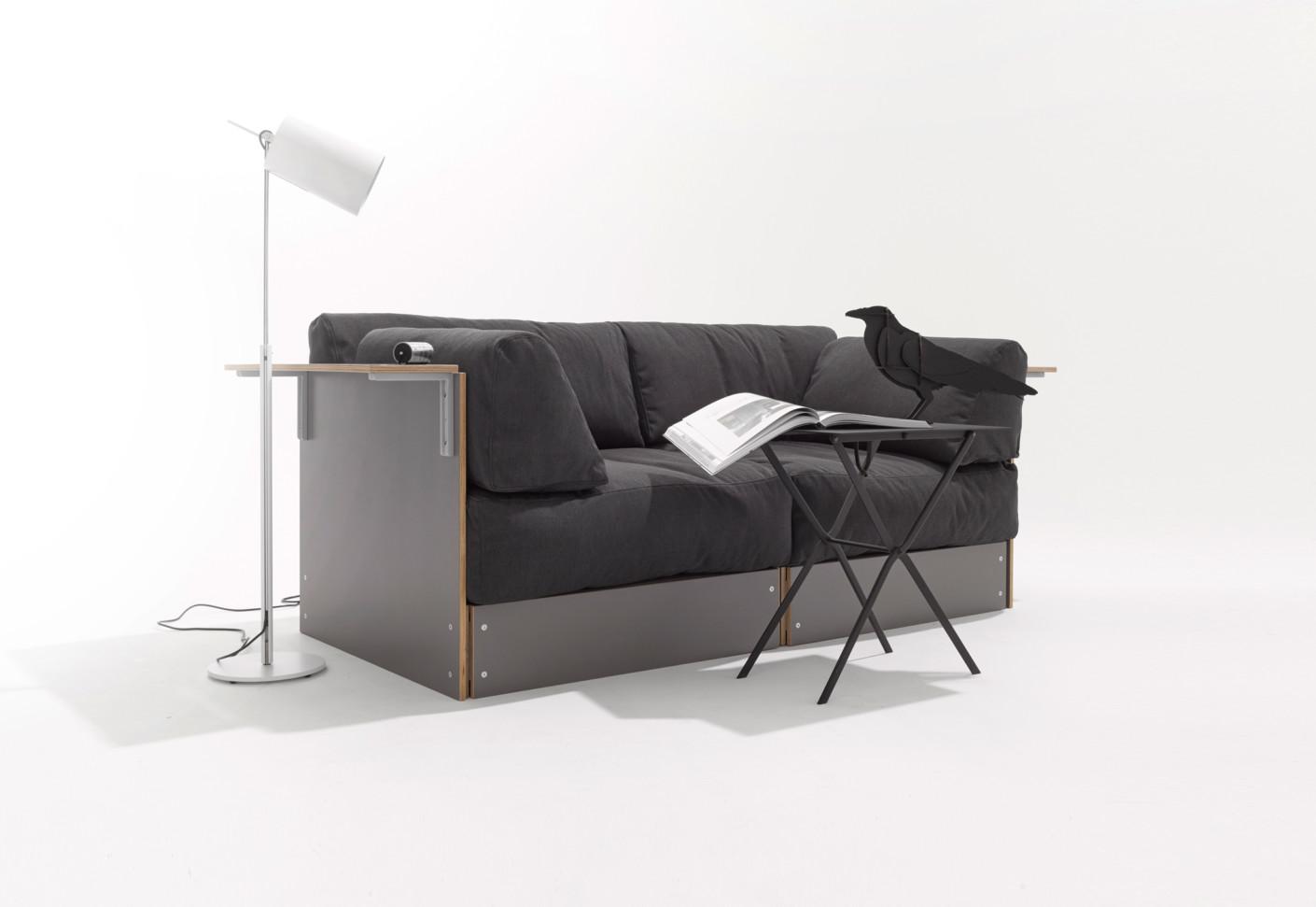 rolf heide sofabank von m ller m belwerkst tten stylepark. Black Bedroom Furniture Sets. Home Design Ideas