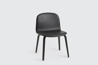 Visu Wide wood base with leather  by  Muuto