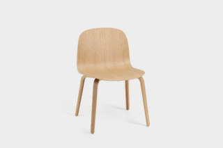 Visu Wide wood base  by  Muuto