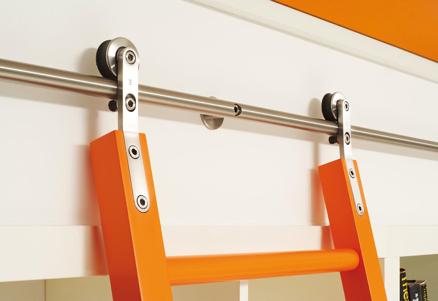 Для деревЯнных лестниц - фурнитура из нержавеющей стали для .