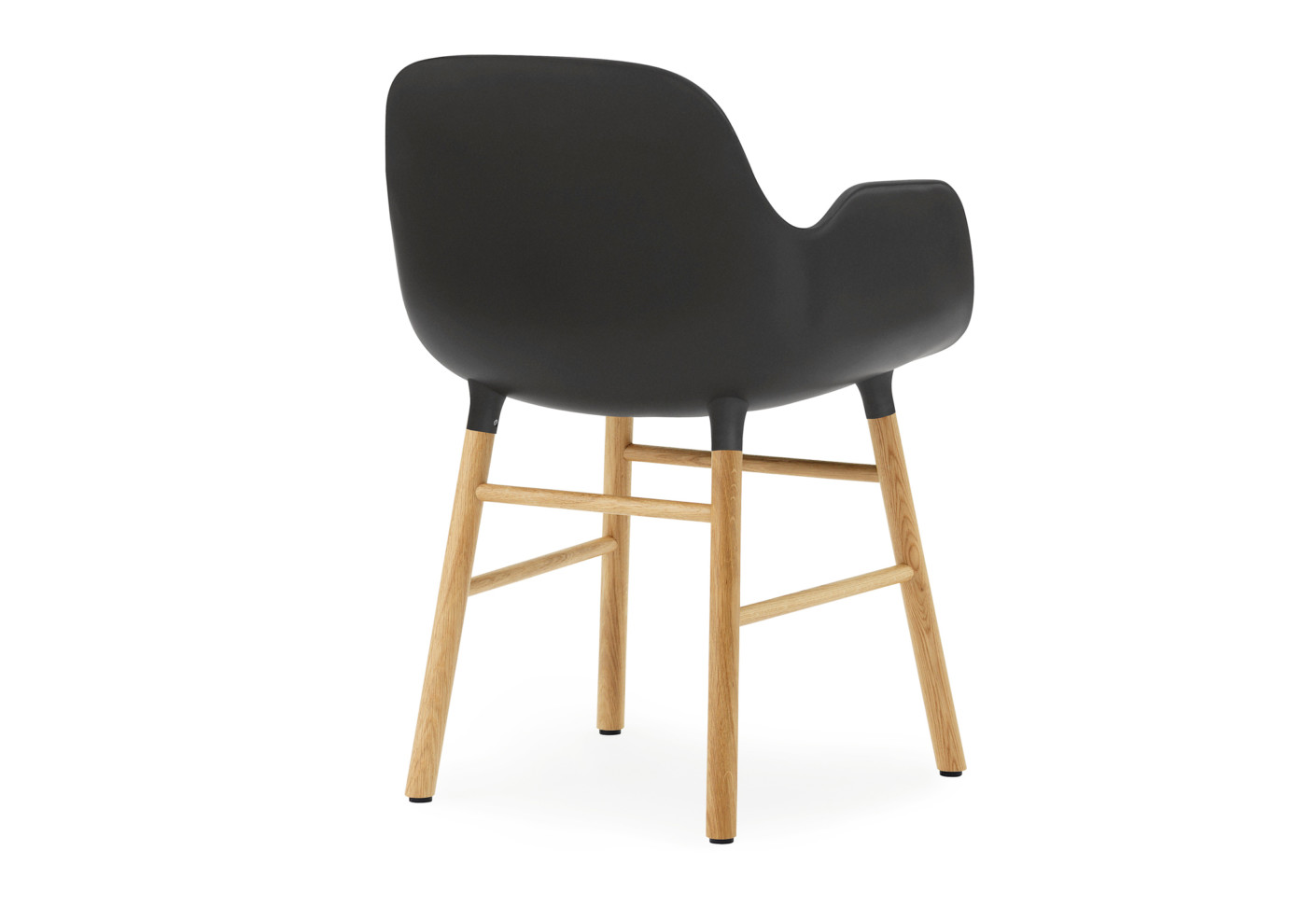 Form Armchair With Wooden Legs By Normann Copenhagen