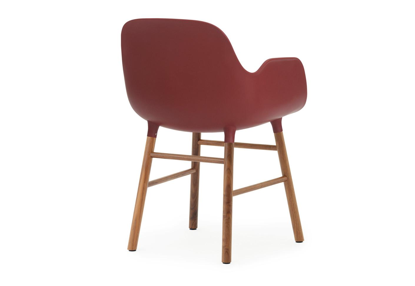 Form Armchair With Wooden Legs By Normann Copenhagen