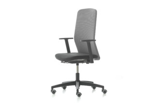 D Chair Fixed high back  by  Nurus