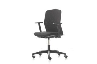 D Chair Fixed low back  by  Nurus