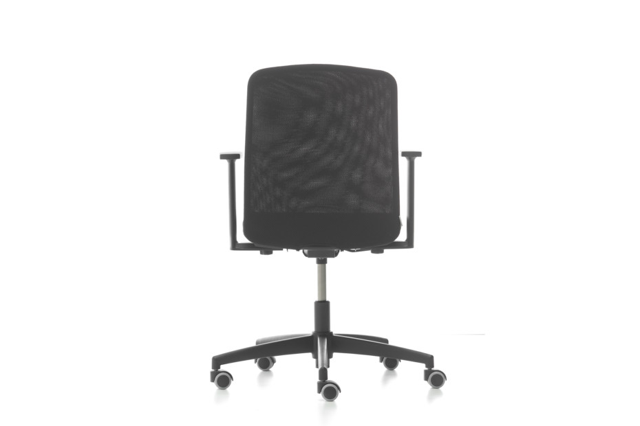 D Chair Fixed low back