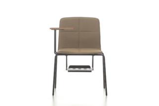 Eon 4 legged upholstered with writingpad  by  Nurus