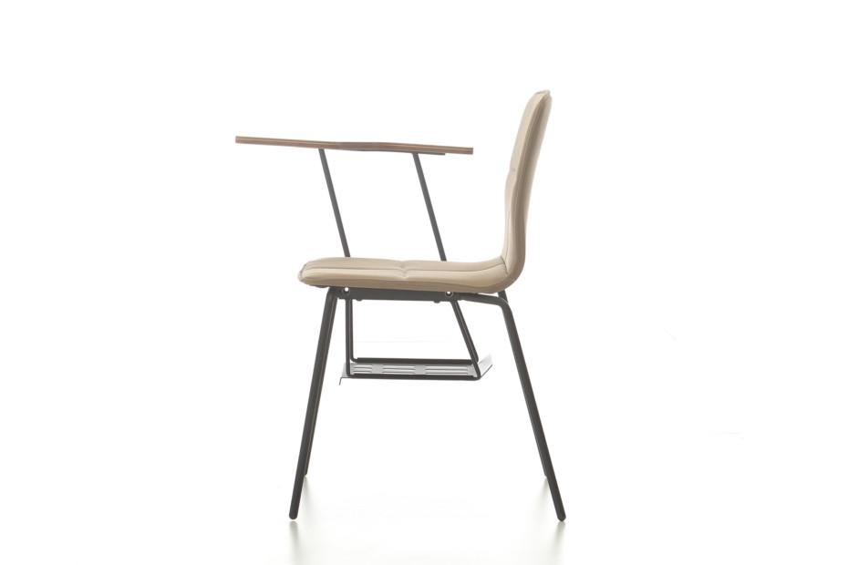 Eon 4 legged upholstered with writingpad