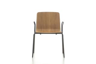 Eon 4 legged wooden with armrest  by  Nurus