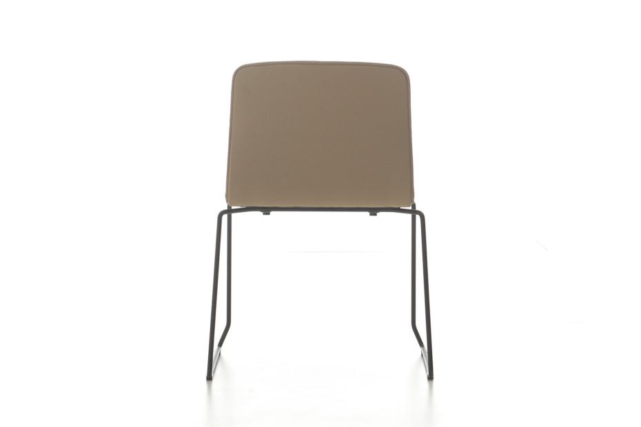 Eon sledge upholstered chair