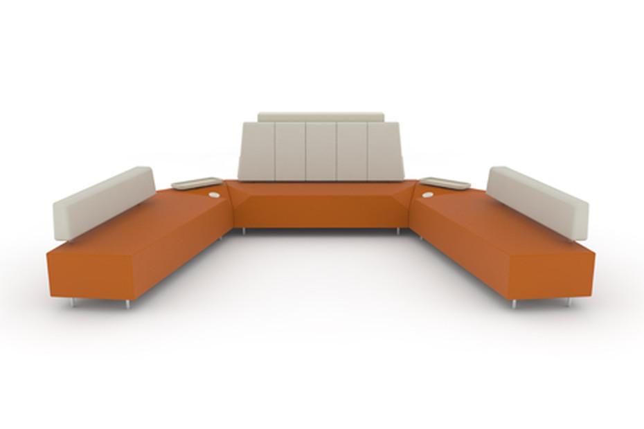 Stone armchair