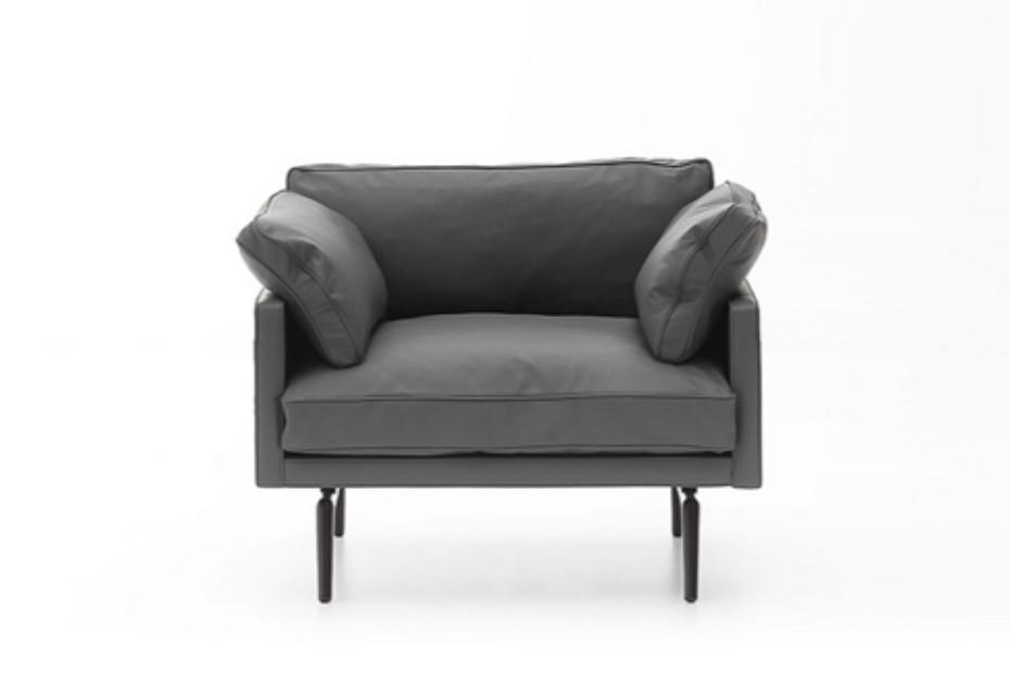 Tan armchair
