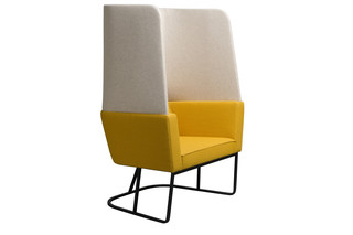 Cape armchair with high backrest  by  Palau