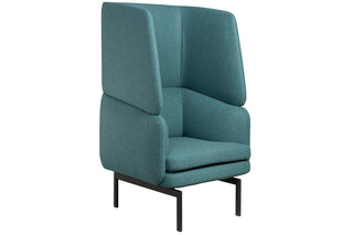 Gabo armchair with high backrest  by  Palau