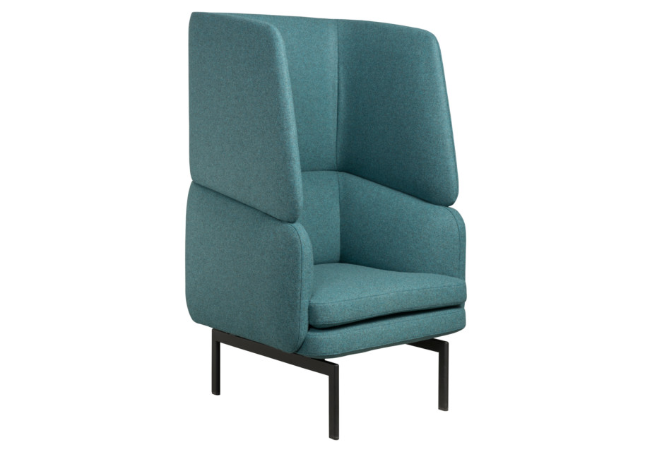 Gabo armchair with high backrest
