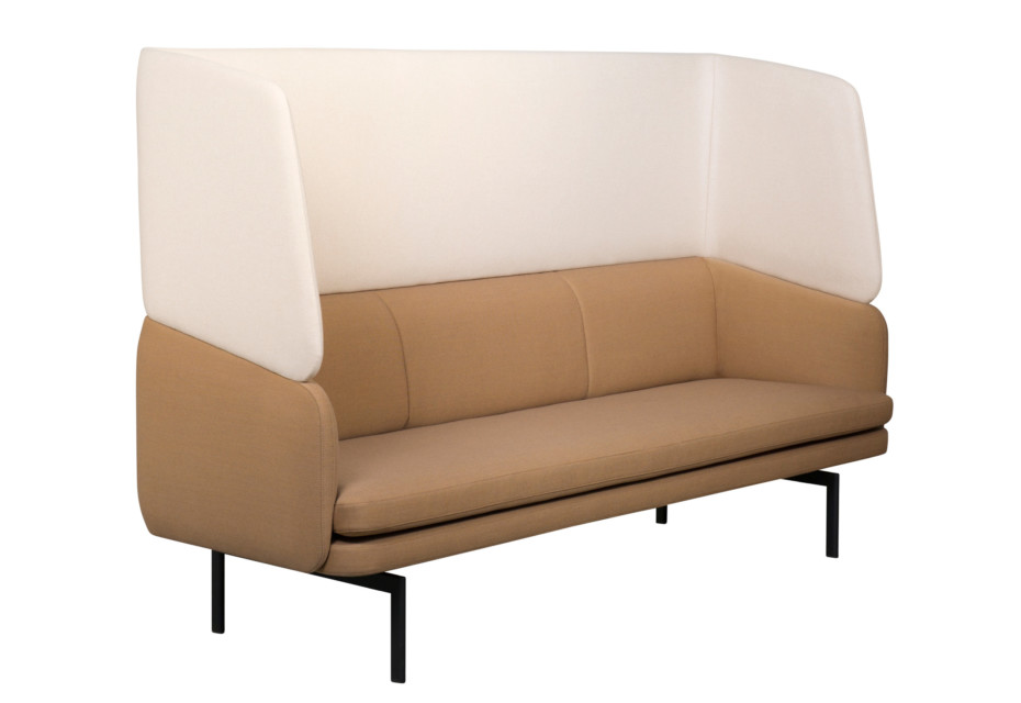 Gabo sofa with hogh backrest