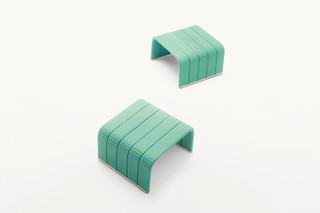 Frame stool & side table  by  Paola Lenti