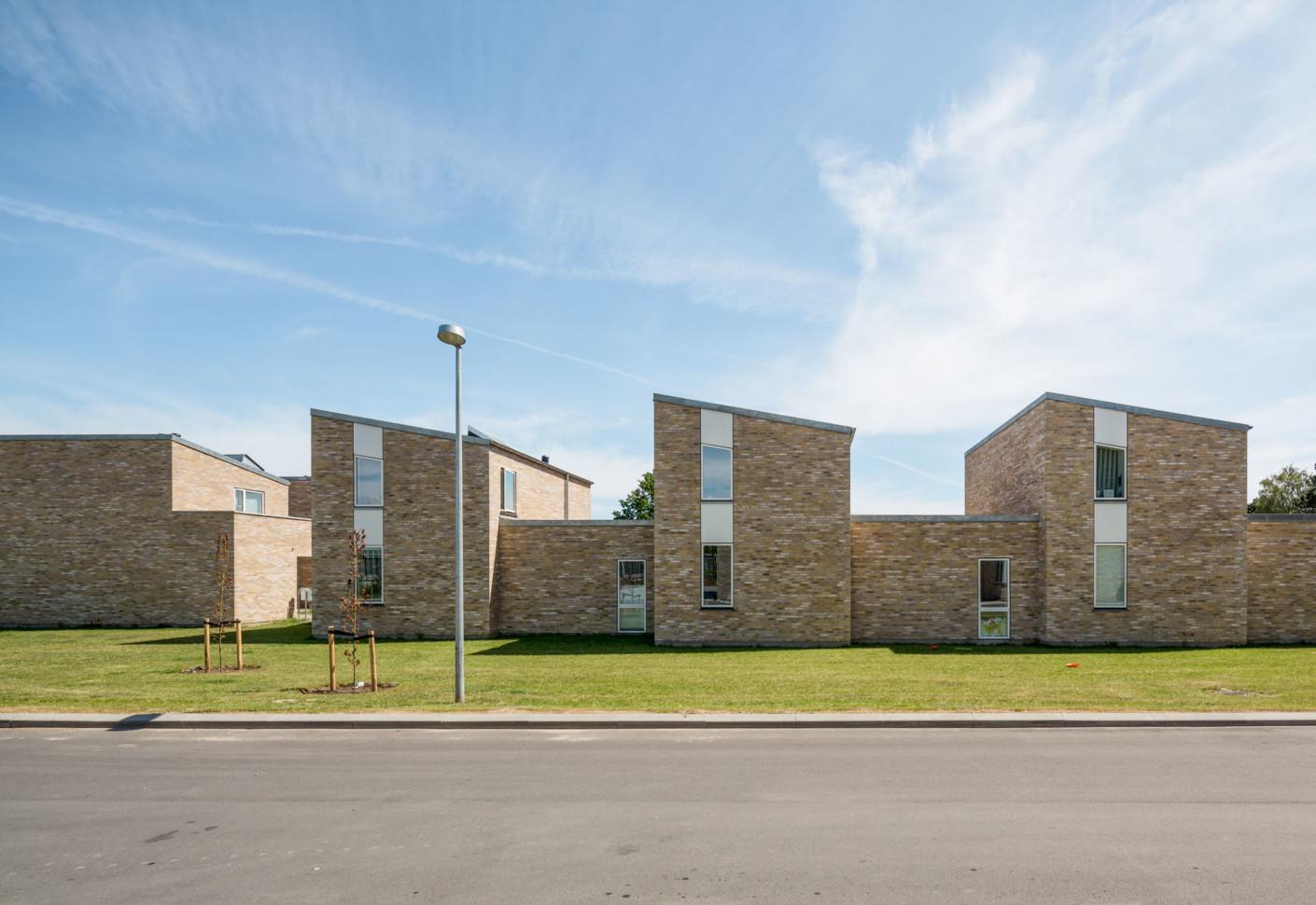 Bytoften Social Housing Units Denmark By Petersen Tegl