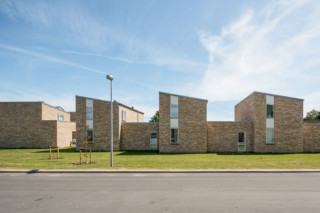 Bytoften social housing units Denmark  by  Petersen Tegl