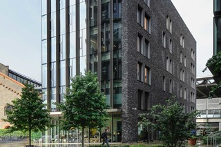 Seven Pancras Square London  by  Petersen Tegl
