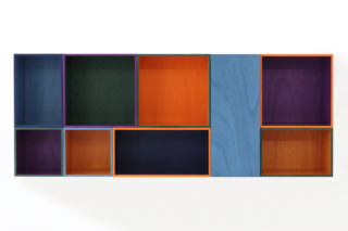 Modern RGB wall shelf  by  Porro