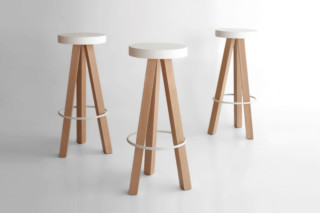 Flak bar stool  by  Punt