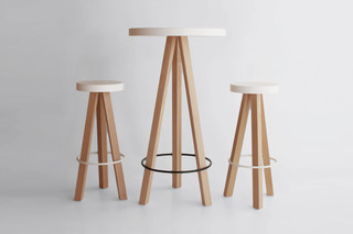 Flak bar table  by  Punt
