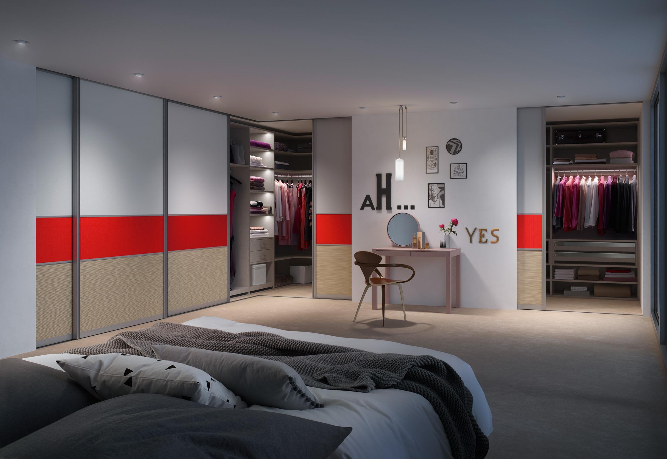 gleitt rsystem s3000 interior system legno mit beleuchtung von raumplus stylepark. Black Bedroom Furniture Sets. Home Design Ideas