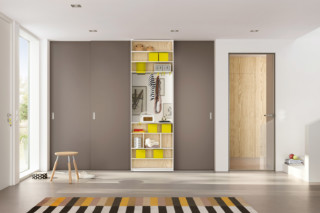 Sliding door system Rima Fino swing door slim line  by  raumplus