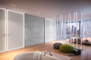 Sliding door system S1200 LED interior system Legno  by  raumplus
