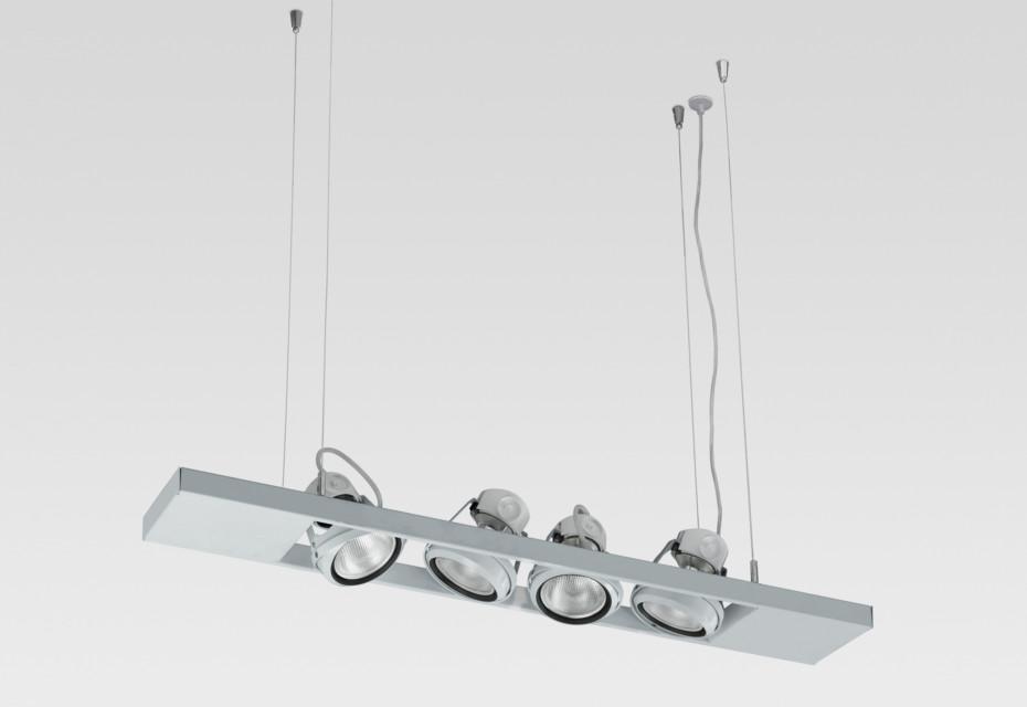Ladder suspension lamp 4x