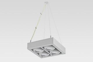 Ladder Pendelleuchte 4x4  von  Reggiani